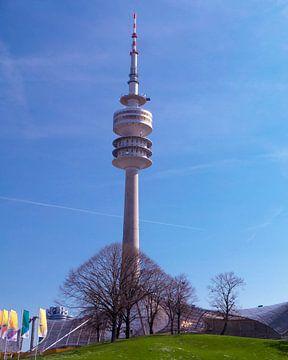 DE - Bavaria: View to the televisiontower of Munich von Michael Nägele