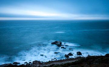 Stormachtige zee von Eddy Bakker