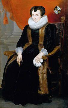 Vieille dame, Cornelis de Vos sur