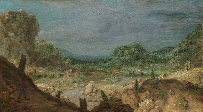 Rivierdal, Hercules Segers, ca. 1626 - ca. 1630 van Marieke de Koning