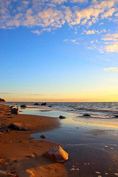 Abendsonne von Ostsee Bilder
