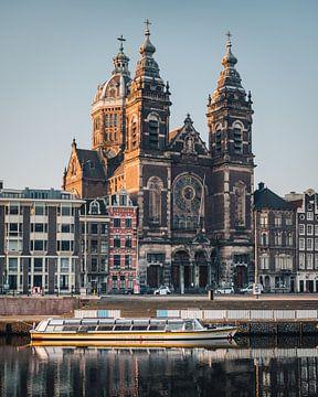 Basilica of St. Nicholas, Amsterdam, Netherlands van Lorena Cirstea