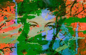 Romy Schneider Splash Pop Art PUR