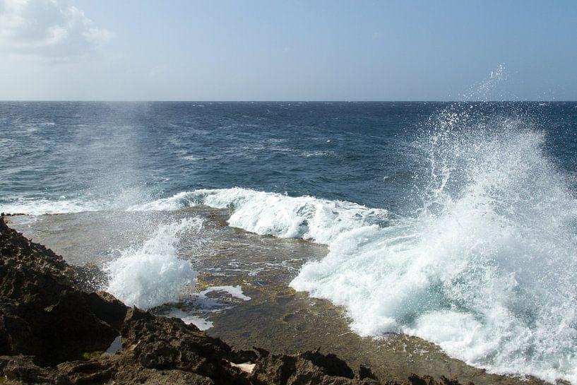 Curacao, ruige kust no. 9 van Arnoud Kunst