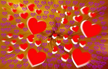 Valentine Greetings van Michael Nägele