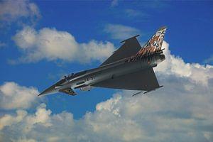 Saab JAS 39 Gripen Fighterjet van