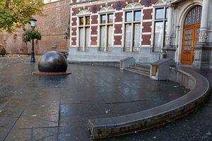 Entree academiegebouw universiteit Utrecht