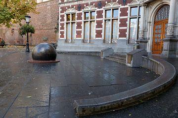 Entree academiegebouw universiteit Utrecht van Marijke van Eijkeren