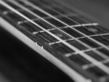 E-Gitarren-Saiten Nahaufnahme von Robin Jongerden