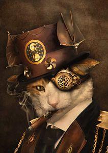 Steampunk kat van