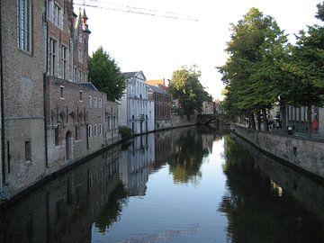 The Leie in Brugge van Claudia Schot