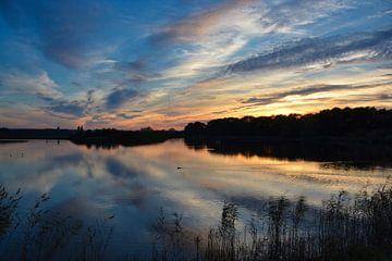 Abendlicht in Heusden von Verrassend Brabant