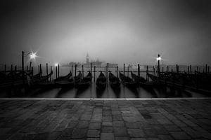 VENEDIG San Giorgio Maggiore im Nebel