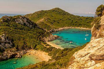 Griechenland, Korfu Porto Timoni Strand von Marjolein van Middelkoop