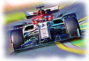 Kimi #7 von Jean-Louis Glineur alias DeVerviers