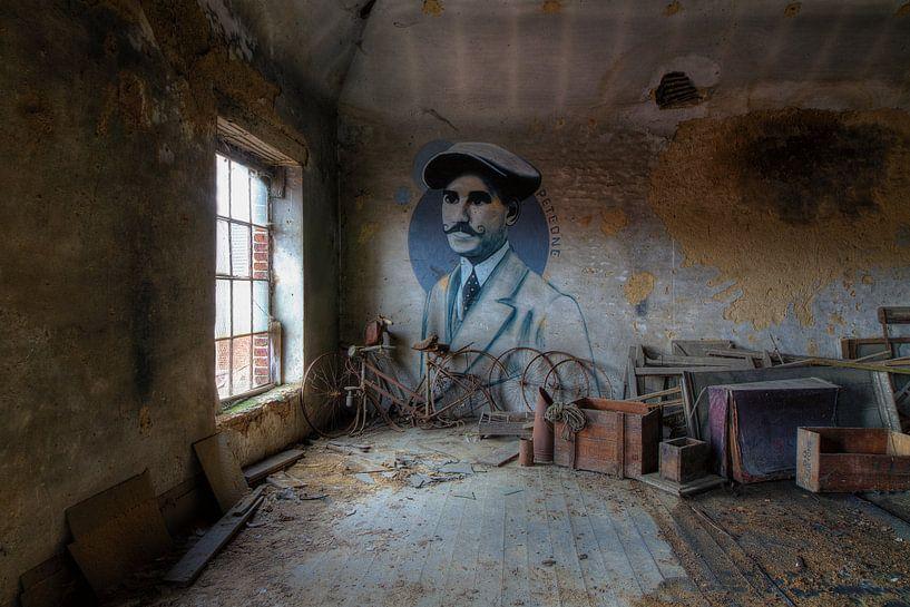 Pete One auf dem Dachboden von Truus Nijland