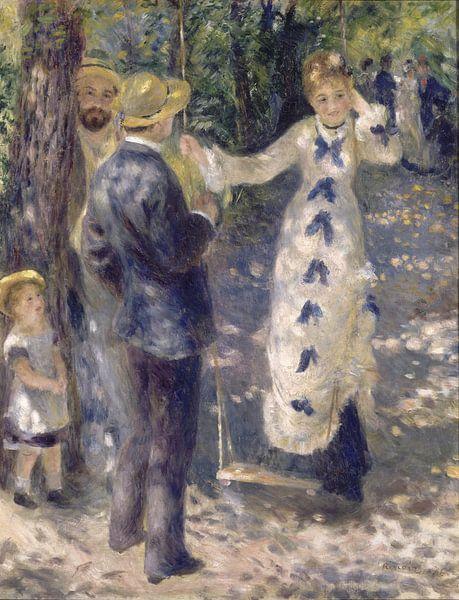 Auguste Renoir. De schommel van 1000 Schilderijen