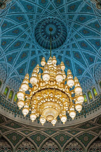 Kroonluchter moskee van Jeroen Kleiberg