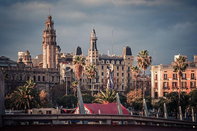 Barcelona - Barri Gotic van Alexander Voss