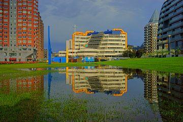 Centrale Bibliotheek Rotterdam von Michel van Kooten