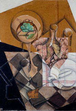 Juan Gris, Die Obstschale - 1914 von Atelier Liesjes