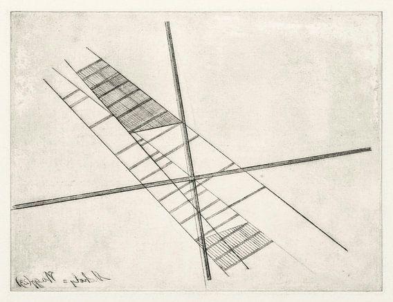 Bauhaus, László Moholy-Nagy, zonder titel - 1923