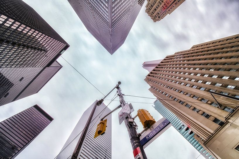 Skyscrapers lookup, Toronto sur Reinier Snijders