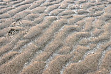 Wiederholung von Strukturen und Spuren am Strand von Jefra Creations