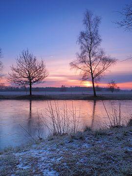 Sunrise in the heart of Friesland sur Wilco Berga