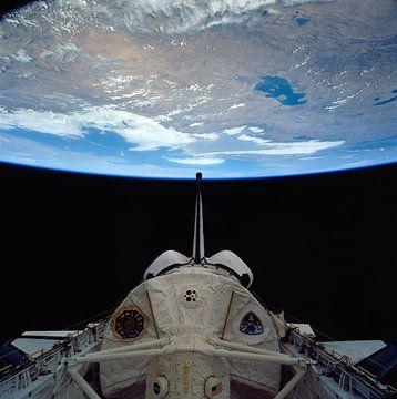 Space Shuttle Colombia Rond De Aarde van Digital Universe