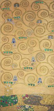 Werktekening voor de Stoclet-fries, deel 1, Gustav Klimt