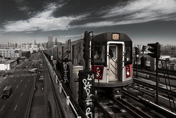 Subway Linie 7   New York van Kurt Krause
