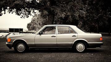Mercedes-Benz S-Klasse W 126 in antique patina von aRi F. Huber