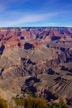 Grand Canyon National Park in Arizona (Verenigde Staten) van Eva Rusman