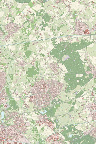 Kaart vanNuenen
