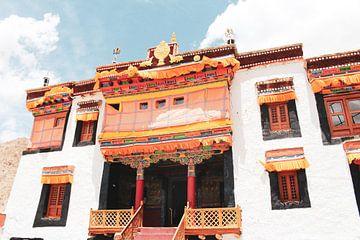 Tibetaanse klooster in Ladakh van yourtravelreporter