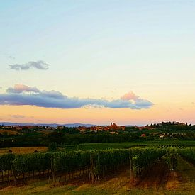 Toscaans landschap van Danielle Bosschaart