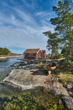 zweeds vissers/zomerhuis