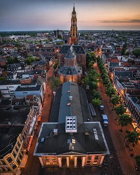 Huis de Beurs, Vismarkt, Korenbeurs, A-kerk, Groningen von Harmen van der Vaart