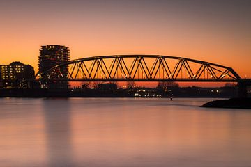 Spoorbrug Nijmegen sur Jeffrey Van Zandbeek