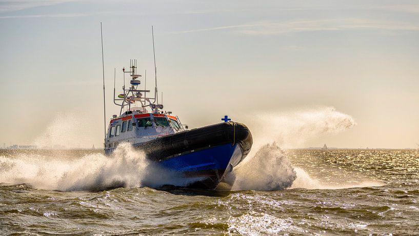 Reddingboot Arie Visser van Terschelling van Roel Ovinge
