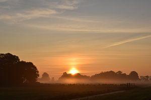 Sonnenaufgang im August von Johanna Varner