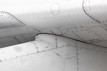 Gros plan avion sur Inge van den Brande