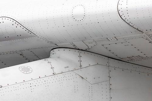 Vliegtuig close-up van Inge van den Brande
