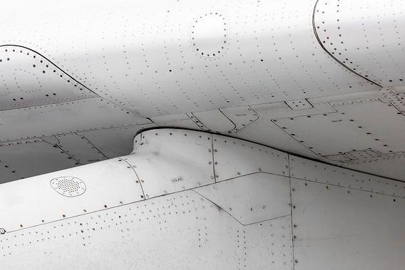 Vliegtuig close-up