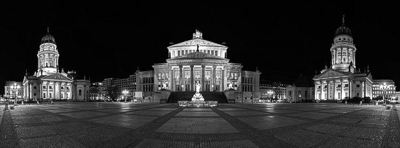 Gendarmenmarkt Berlijn Panorama van Frank Herrmann