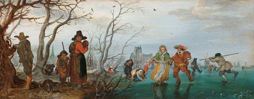 Winter, Adriaen Pietersz. van de Venne von Meesterlijcke Meesters
