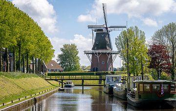 Dokkum stad in Friesland van Dana Oei fotografie