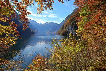 Der Königssee im Herbst von Bernhard Kaiser