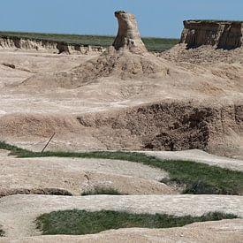 Hoodoo Im Badlands National Park South Dakota von Christiane Schulze